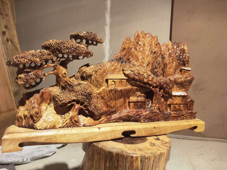 金丝楠木雕刻工艺品